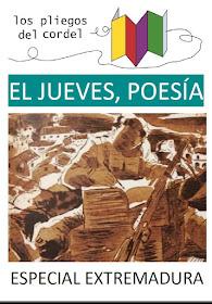 El jueves, poesía. Especial Extremadura