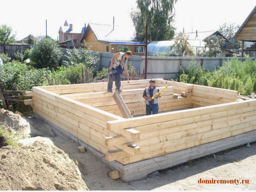 Сами строим баню своими руками 87