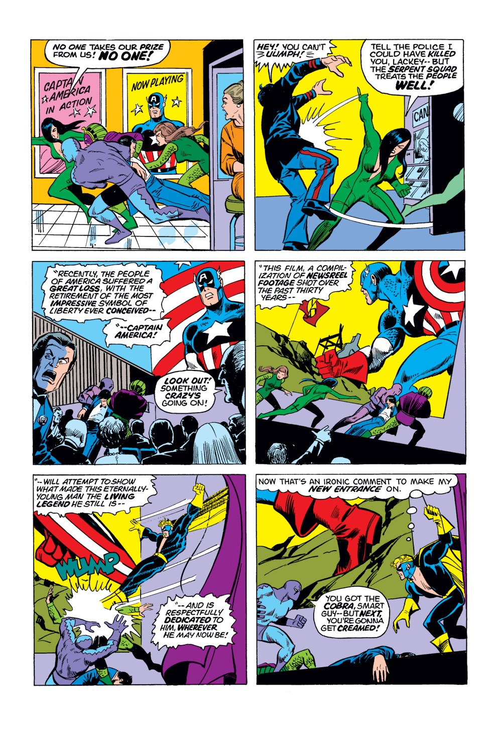 Captain America (1968) Issue #180 #94 - English 15