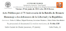 ATENEO DE MADRID - 29 de junio - 20:30 h
