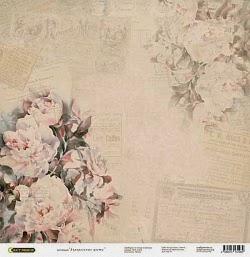 """скрапбумага """"Акварельные цветы"""""""