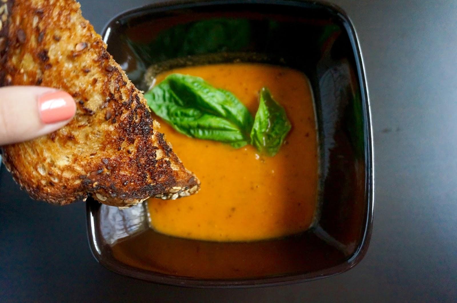 Lighter Tomato Basil Bisque Recipe - greysuede.com