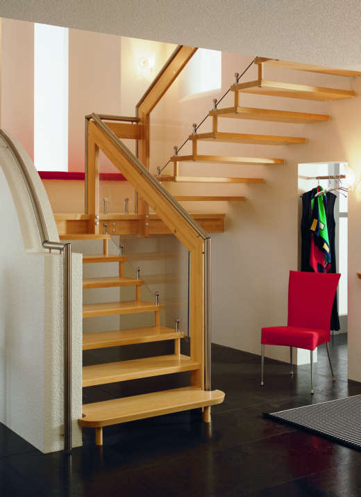 Interior home decoration indoor stairs design pictures for Stair designs interior