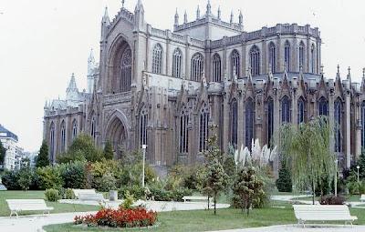 Vitoria-Gasteiz España catedral