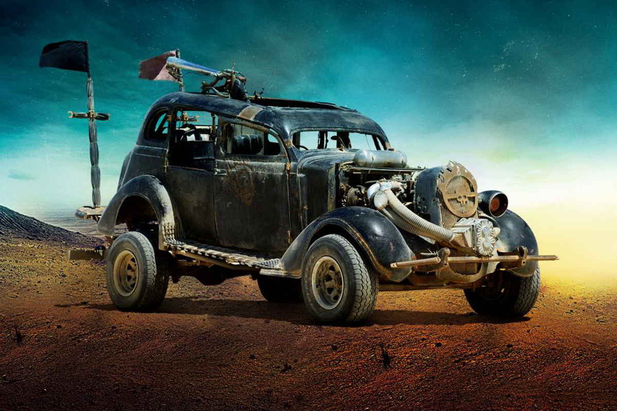The Vehicles Of Quot Mad Max Fury Road Quot Are Totally Insane W