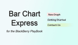 Bar Chart Express v1.0.0 for the BlackBerry PlayBook