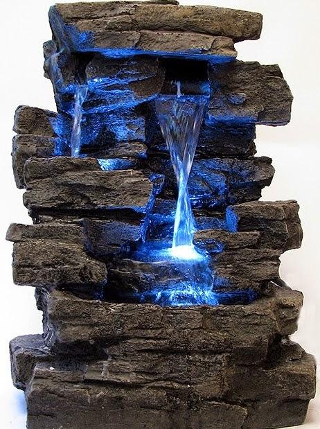 Настольные водопады и фонтаны