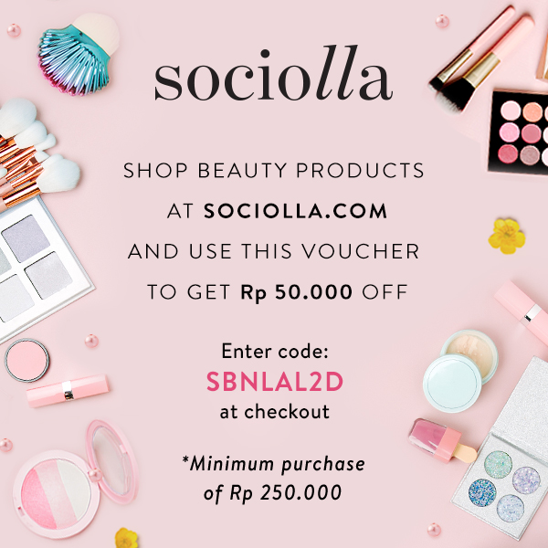 Get Discount on Sociolla