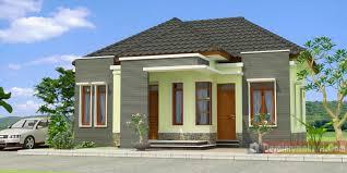 Contoh Gambar Desain Rumah Minimalis 1 Lantai