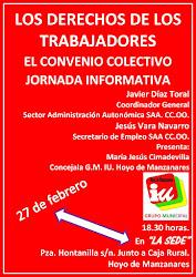 JORNADA INFORMATIVA SOBRE LOS DERECHOS DE LOS TRABAJADORES