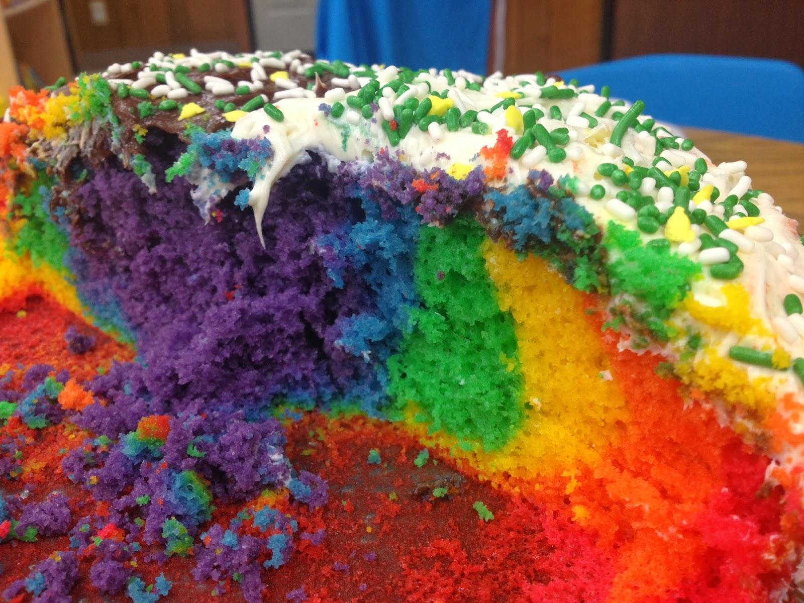 rainbow preschool snack ideas
