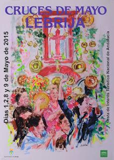 LEBRIJA  Cruces de Mayo 2015