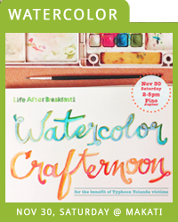 A BENEFIT WATERCOLOR CRAFTERNOON
