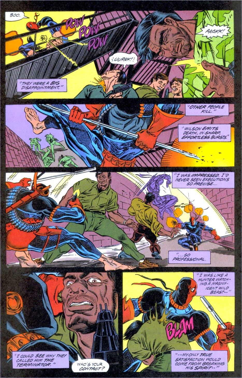 Deathstroke (1991) Issue #12 #17 - English 11