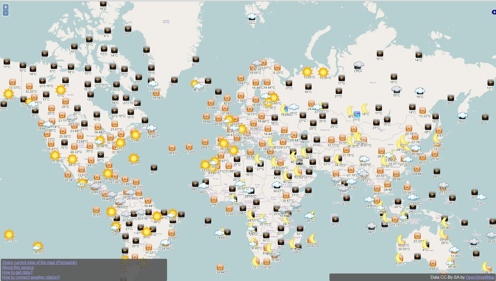 Deutschlandkarte blog: Die Open Weather Map zeigt uns das ... - Atomkraftwerke In Deutschland Karte