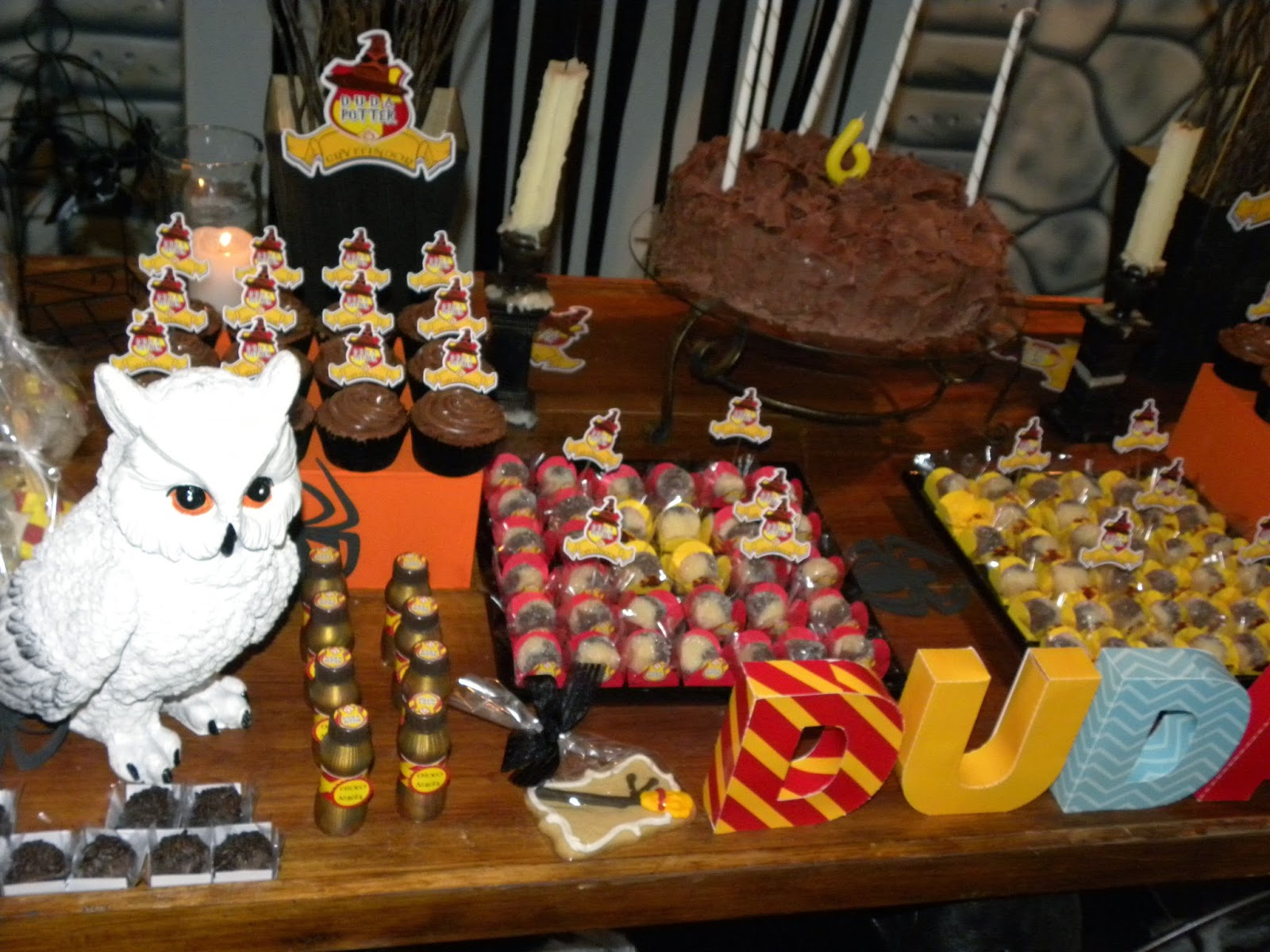 Artesanato Com Papel Origami Passo A Passo ~ Pérolas e Jujubas Festa Harry Potter