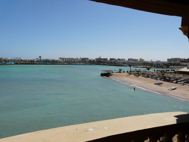 Widok z hotelu Sunny Days el Palacio