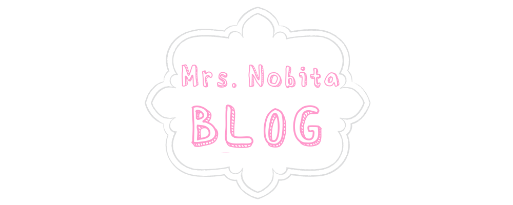 MRS NOBITA's BLOG