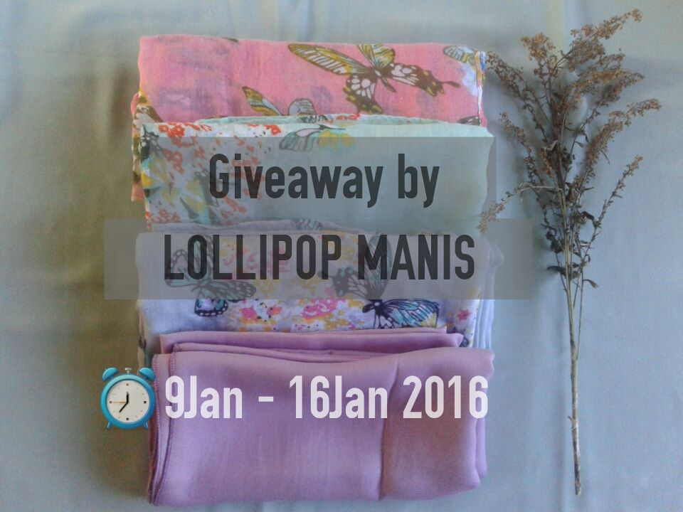 Shawls Giveaway by Lollipop Manis