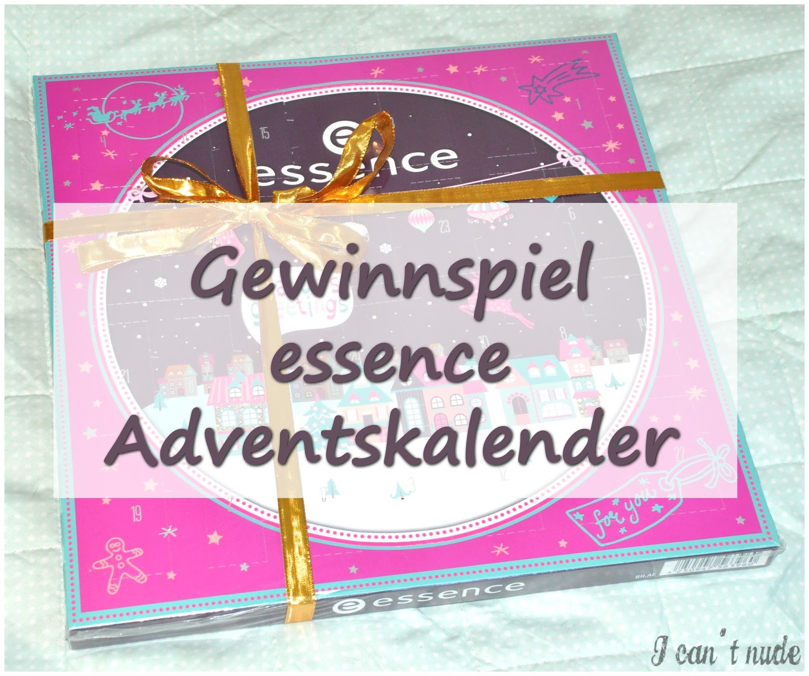 denise 39 s details gewinnspiel essence adventskalender. Black Bedroom Furniture Sets. Home Design Ideas