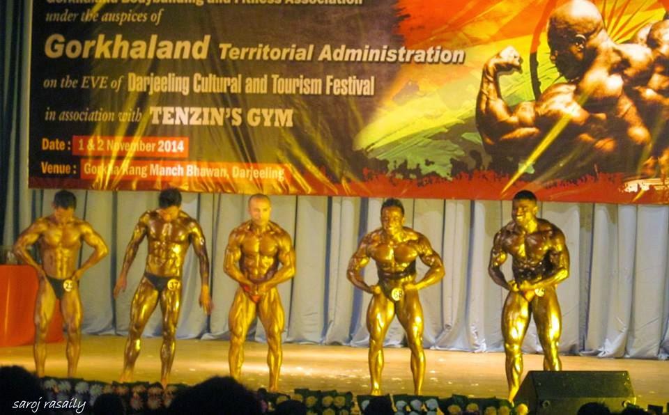 IBBF Eastern India Classic Body Building Championship Gorkha Rangamanch Bhawan Darjeeling
