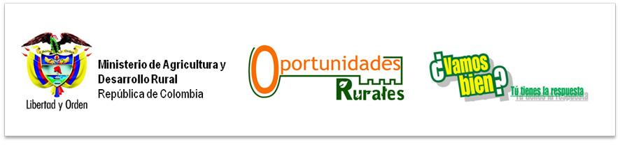 Oportunidades Rurales ¿Vamos Bien?