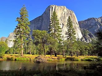 El Capitan and Merced River inYosemite Valley. Range of Light Film Festival Feb. 27 - Mar. 2, 2014