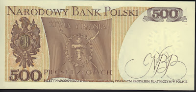 Polonia 500 Zlotych 1982 P# 145d