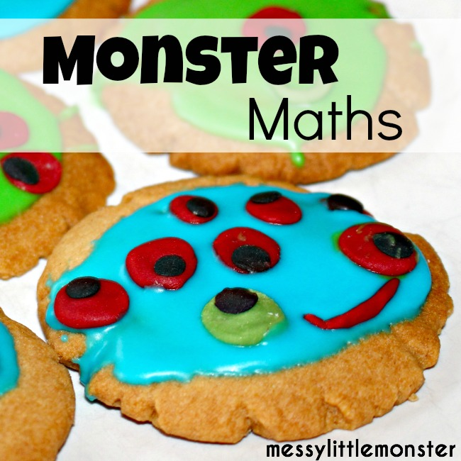 Monster Biscuit Maths Counting Game