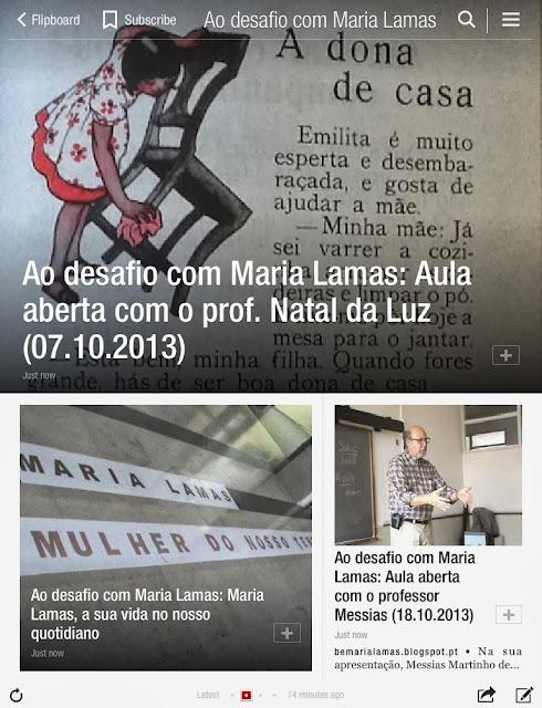 Revista Ao desafio com Maria Lamas