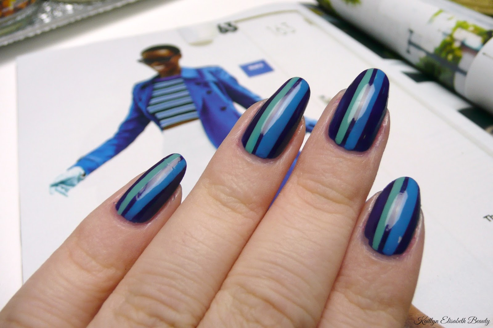 Mani Monday: February 2015 Glamour Inspired