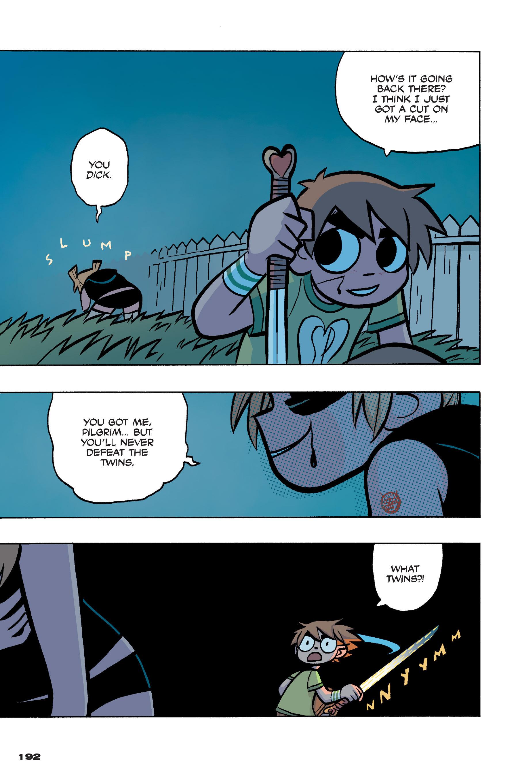 Read online Scott Pilgrim comic -  Issue #4 - 188