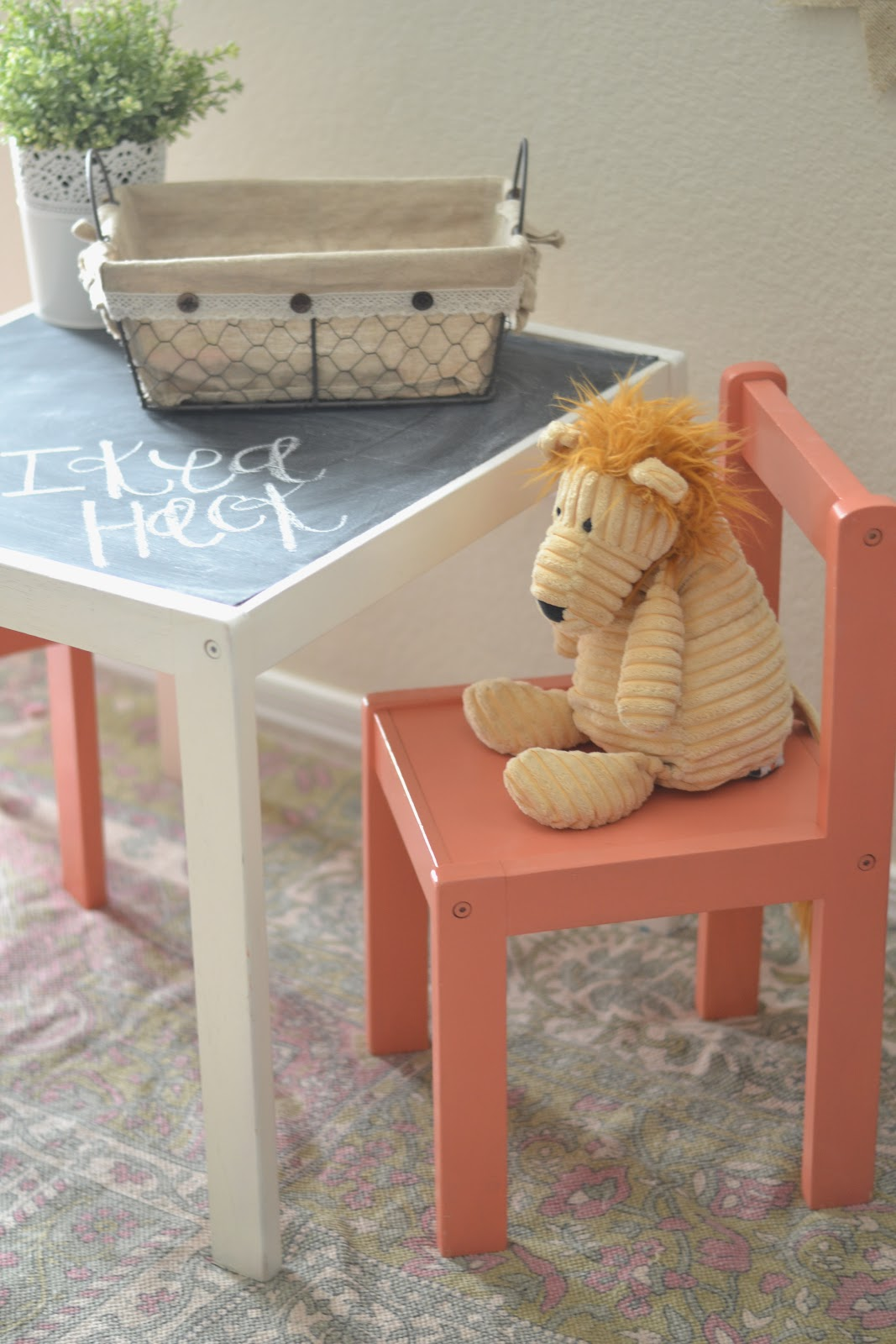 Ikea hack children 39 s table paddington way - Paint for childrens furniture ...