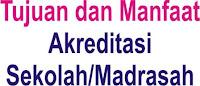 tujuan manfaat dan fungsi akreditasi sekolah madrasah