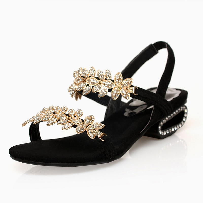 Back Strap Sandals With Fancy Work According To The Choice Of Modern Girls If You Want Get More Information About Latest Fashion Trend Then