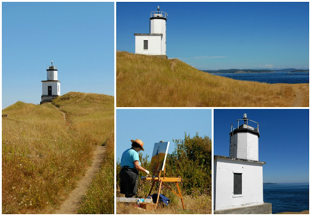 Places to visit San Juan Island lighthouse