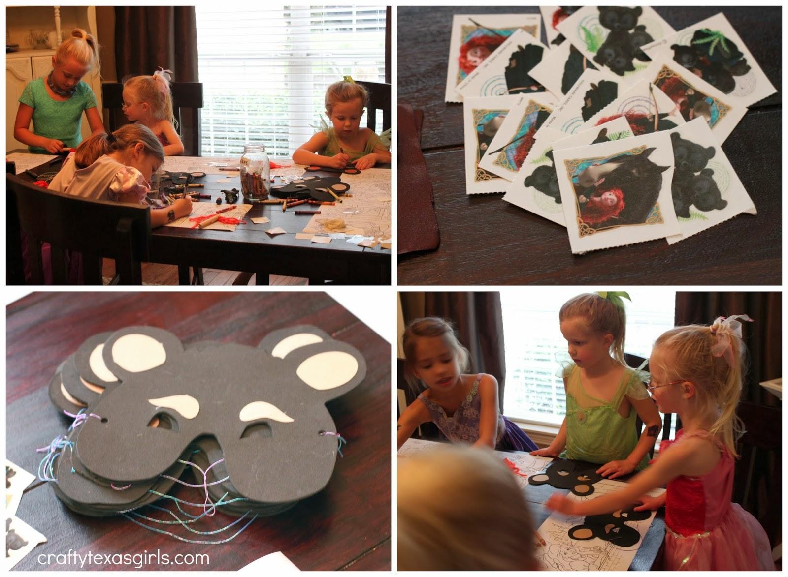 Crafty Texas Girls Brave Merida Inspired Birthday Party