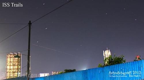 Tips Menemukan ISS Saat Melintasi Langit