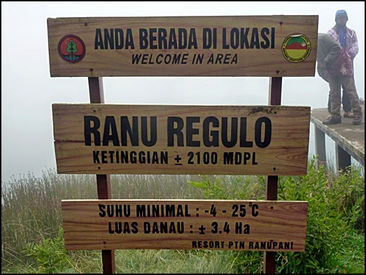 Objek Wisata Ranu Regulo