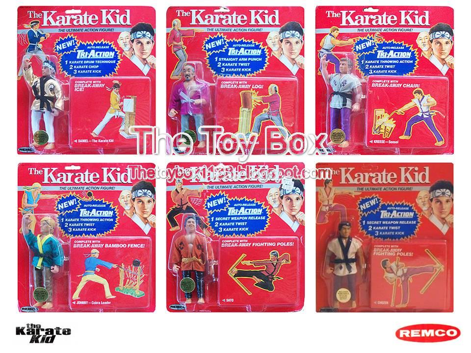Karate Kid Toys Set Remco