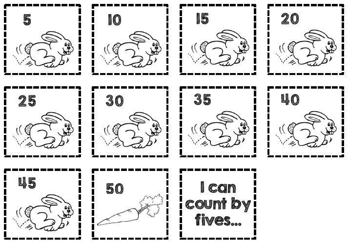 Number Names Worksheets skip counting by 5 worksheet Skip – Counting by 5 Worksheets