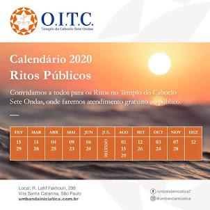 Calendário OITC 2020