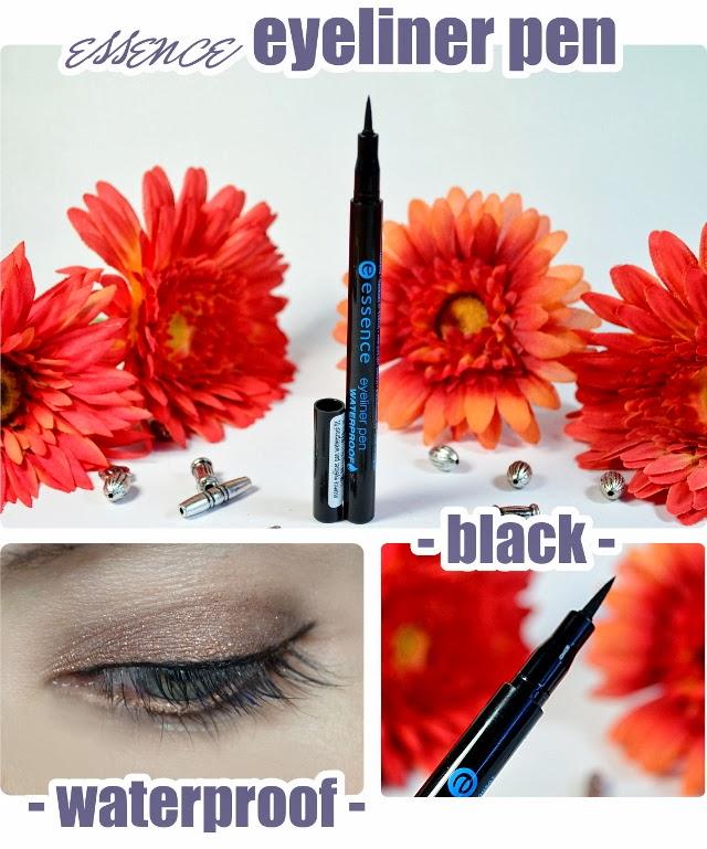 essence Neuheiten im Frühjahr 2014 - eyeliner pen waterproof