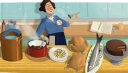 Doodle de Google 15 de agosto: Julia Child