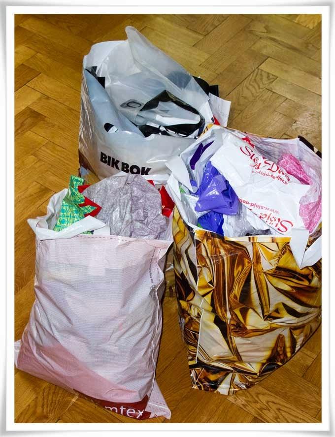 Återvinning av plastkassar