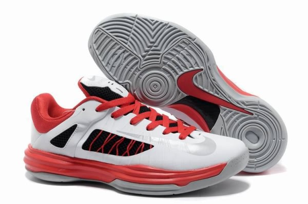 Nike LeBron James Olympic Low Basketball Shoes Black Redjordan Shoes