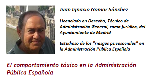MobbingMadrid El comportamiento tóxico en la Administración Pública Española