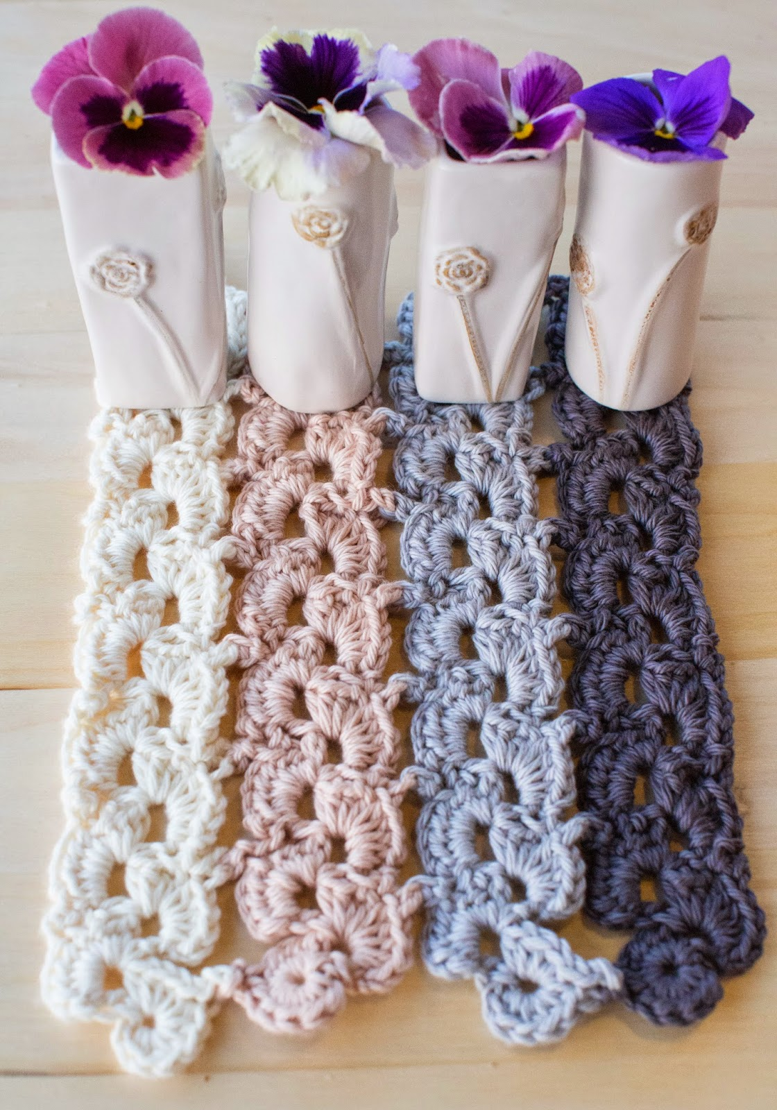 Pansy Parade Blanket Crochet Pattern by Susan Carlson (Photo used courtesy of R&L Crochet Co.)