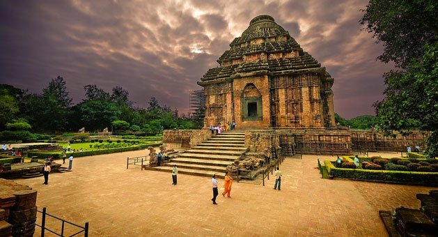 The Sun Temple Konark Orissa