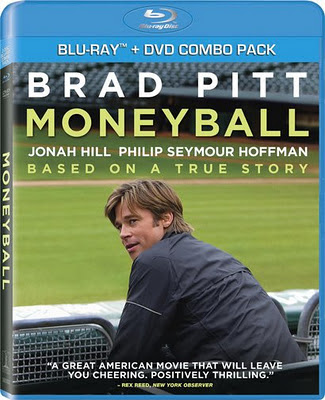 Moneyball (2011) Blu Ray Rip 850 MB, moneyball dvd cover, moneyball, blu ray dvd cover
